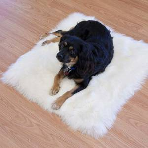 custom sheepskin pet pelt